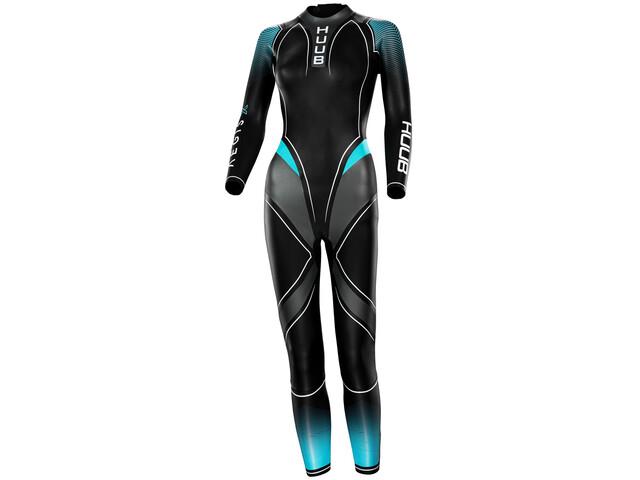 HUUB Aegis X 3:3 Full Suit Women black/blue